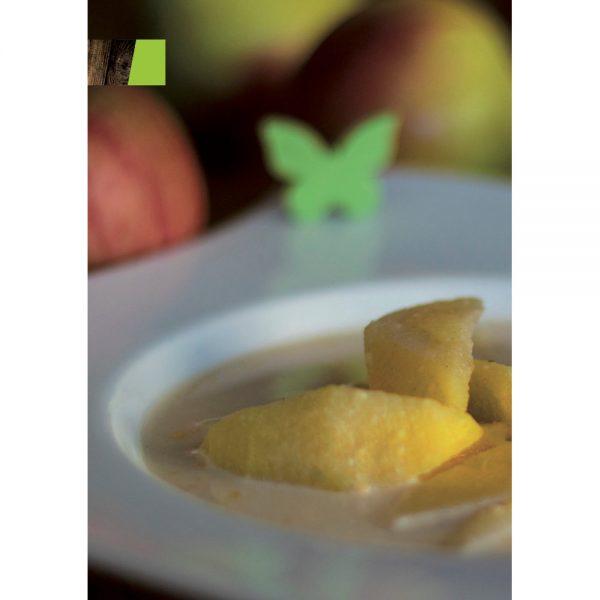 Buchseite: Bild der Apfelsuppe